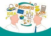 비즈니스, 일러스트, 정보매체