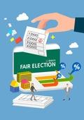 선거, 투표, 일러스트