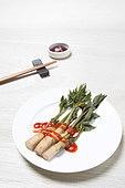 Spring vegetables in Korea