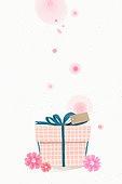 선물, 이벤트, 감사, 수채화