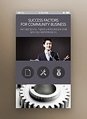 Business Mobile Template