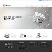 Template web business