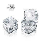 얼음, 차가움, 여름,