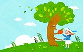 어린이, 교육, 동화, 상상력