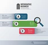 인포그래픽, 비즈니스, 그래프, 차트, 일러스트