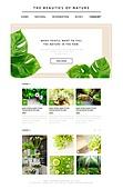 Natural Web Templates