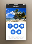 Nature Mobile Template