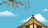 가을, 풍경, 계절, 백그라운드