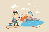 캠핑, 취미, 여행