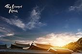 자연, 풍경, 한국문화, 기와집, 한옥, 전통마을