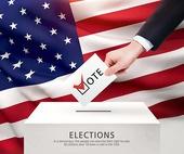 미국, 미국국기, 정치