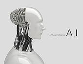 ai, 3d, 인공지능, 4차산업혁명, 로봇