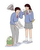 스트레스, 수험생, 고등학생, 수능, 학생