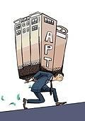 부채, 빚, 금융, 대출, 파산