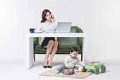 Mothers Working From Home