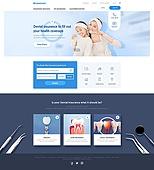 웹템플릿, 유저인터페이스, 웹사이트, 메인페이지