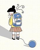 어린이, 우울증, 스트레스, 학교, 초등학생