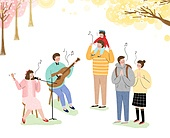 공연, 버스킹, 축제, 음악, 길거리