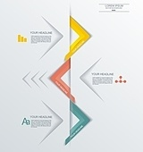 Minimal Timeline Infographic design. Can be used for workflow la
