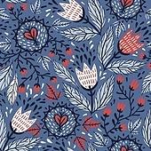 포인트 벽지 패턴