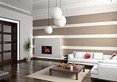 modern private interior (3D rendering)