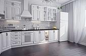 modern kitchen interior (3D render)
