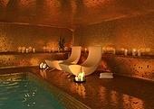 spa modern interior (3D rendering)