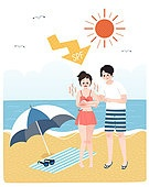 여름, 질병, 라이프스타일