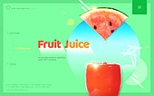 쥬스, 과일, 음료, 수박
