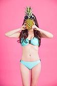 Colorful summer portrait