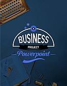 비즈니스, 사무용품, 로고