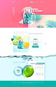 summer/tropical web&banner