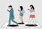 sns, 스마트폰, 스몸비, 무관심