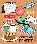 신용카드, 소비, 할인, 이벤트