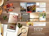 Autum Mobile Mockup