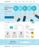 비즈니스 웹템플릿 유저인터페이스 웹사이트 메인페이지