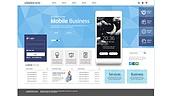 비즈니스 웹템플릿 유저인터페이스 웹사이트