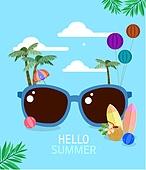 여름, 이벤트, 휴가, 계절