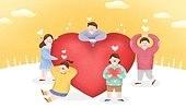 소통, 협력, 팀워크, 희망, 복지