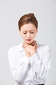 Korean, office worker, woman, pain