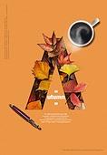 가을, 포스터, 알파벳A