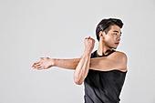 한국인, 근육풀기 (신체활동), 워밍업 (운동), 근육질 (Human Build)