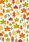 패턴, 가을, 단풍 (가을)