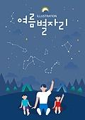 밤중 (사건), 포스터, 팝업, 여름, 별자리