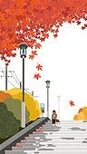 가을, 풍경 (컨셉), 단풍나무