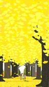 가을, 풍경 (컨셉), 은행나무 (낙엽수)
