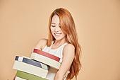 한국인, 여성, 선물, 쇼핑
