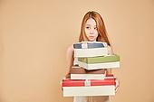 한국인, 여성 (성별), 선물 (인조물건)