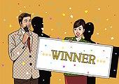 팝아트, 자산관리, 금융, 축하이벤트 (사건)