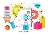 스마트폰, 모바일결제 (금융아이템), 쇼핑, 상업이벤트 (사건)